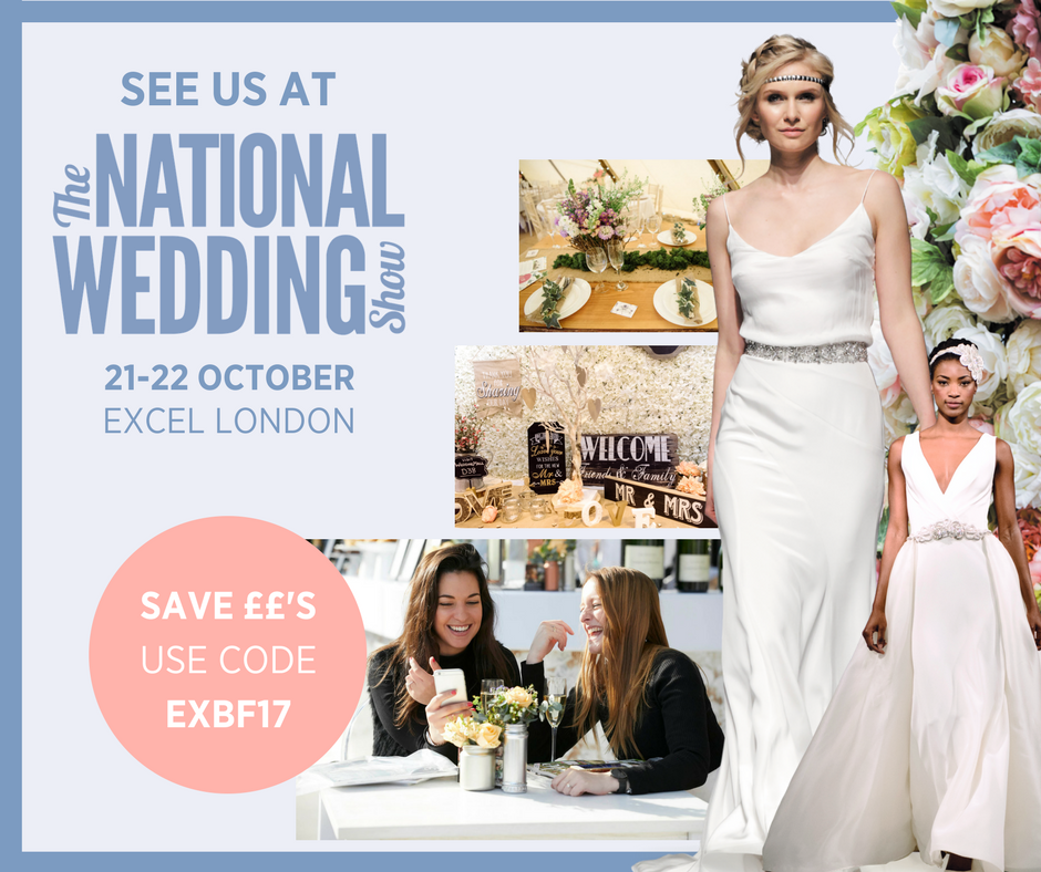 Visit Me At The National Wedding Show London Excel 21 22 Oct